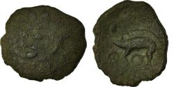 Ancient Coins - Coin, Aulerci Eburovices, Bronze Æ, 60-50 BC, , Bronze