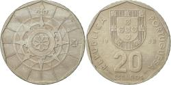 World Coins - Portugal, 20 Escudos, 1988, Lisbon, , Copper-nickel, KM:634.1