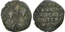 Ancient Coins - Constantine VII and Zoe, Follis, Constantinople, , Bronze, Sear:1758
