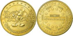 World Coins - France, Token, Touristic token, Disneyland n°2 - Mickey 2004, Arts & Culture