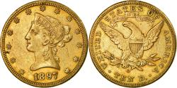 Us Coins - Coin, United States, Coronet Head, $10, Eagle, 1897, New Orleans,