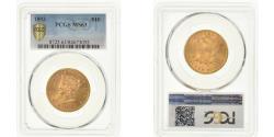 Us Coins - Coin, United States, Coronet Head, $10, Eagle, 1893, Philadelphia, PCGS, MS63