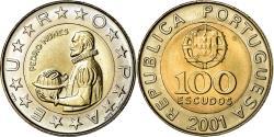World Coins - Coin, Portugal, 100 Escudos, 2001, , Bi-Metallic, KM:645