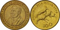 World Coins - TANZANIA, 100 Shilingi, 1994, KM #32, , Brass Plated Steel, 9.12