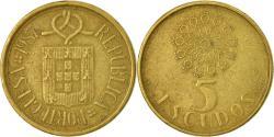 World Coins - Coin, Portugal, 5 Escudos, 1987, , Nickel-brass, KM:632