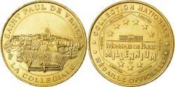 World Coins - France, Token, Touristic token, Saint-Paul de Vence - Collégiale n°1, 2001