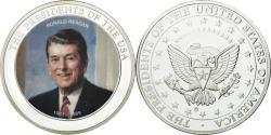 Us Coins - United States of America, Medal, Les Présidents des Etats-Unis, Ronald Reagan
