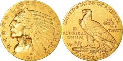 Us Coins - Coin, United States, Indian Head, $5, Half Eagle, 1910, U.S. Mint, Philadelphia