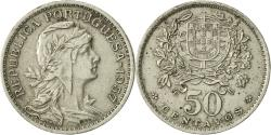 World Coins - Portugal, 50 Centavos, 1957, , Copper-nickel, KM:577