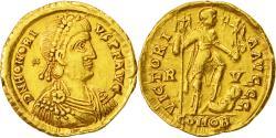Honorius, Solidus, Ravenna, , Gold, RIC:1287