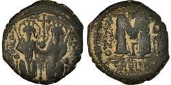 Ancient Coins - Coin, Justin II, Follis, 573-574, Antioch, , Copper, Sear:379