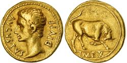 Coin, Augustus, Aureus, 15-13 BC, Lyon - Lugdunum, , Gold