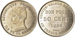 World Coins - Coin, Réunion, 50 Centimes, 1896, ESSAI, , Copper-nickel, KM:E1