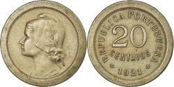 World Coins - Coin, Portugal, 20 Centavos, 1921, , Copper-nickel, KM:571