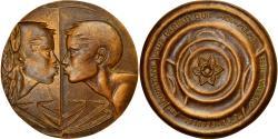 World Coins - France, Medal, Le Baiser, Arts & Culture, 1973, Lagriffoul, , Bronze