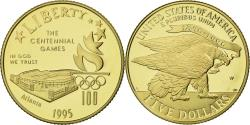 Us Coins - Coin, United States, 1996 Olympic Games, $5, Half Eagle, 1995, U.S. Mint, West