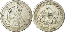 Us Coins - Coin, United States, Seated Liberty Half Dollar, 1860, San Francisco