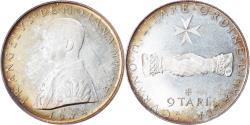 World Coins - Coin, MALTA, ORDER OF, Angelo de Mojana di Cologna, 9 Tari, 1974,