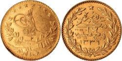 World Coins - Coin, Turkey, Muhammad VI, 25 Kurush, 1918, Qustantiniyah, , Gold