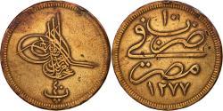 World Coins - Coin, Egypt, Abdul Aziz, 40 Para, Qirsh, 1869, Misr, , Bronze, KM:248.2