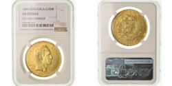World Coins - Coin, Venezuela, 100 Bolivares, 1889, Caracas, NGC, AU Details, , Gold