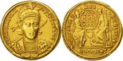 Constantius II, Solidus, Antioch, , Gold, RIC:162