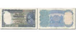 World Coins - Banknote, India, 10 Rupees, 1937, KM:19a, EF(40-45)