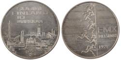 World Coins - FINLAND, 10 Markkaa, 1971, Helsinki, KM #52, , Silver, 35, 24.20