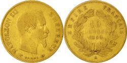 Ancient Coins - Coin, France, Napoleon III, 10 Francs, 1859, Paris, Gold, , KM 784.3