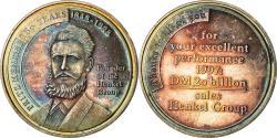 World Coins - Germany, Medal, Fritz Henkel, Henkel Group, Business & industry, 1997,