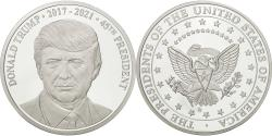 Us Coins - United States, Medal, Donald Trump, MS(65-70), Copper-nickel