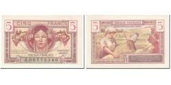 World Coins - France, 5 Francs, 1947 French Treasury, 1947, Undated (1947), UNC(63)