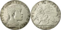 World Coins - Coin, Ethiopia, Menelik II, Birr, 1892, , Silver, KM:19