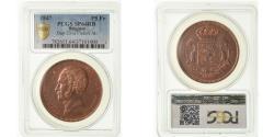 World Coins - Coin, Belgium, Leopold I, 5 Francs, 1847, Essai-Piéfort, PCGS, SP64RB, Copper