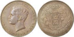 World Coins - Coin, Portugal, Manuel II, 500 Reis, 1909, , Silver, KM:547