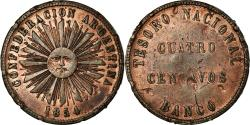 World Coins - Coin, Argentina, 4 Centavos, 1854, , Copper, KM:25
