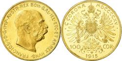 World Coins - Coin, Austria, Franz Joseph I, 100 Corona, 1915, Official restrike,