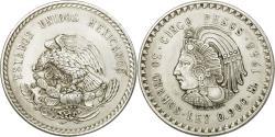 World Coins - Coin, Mexico, 5 Pesos, 1948, Mexico City, , Silver, KM:465