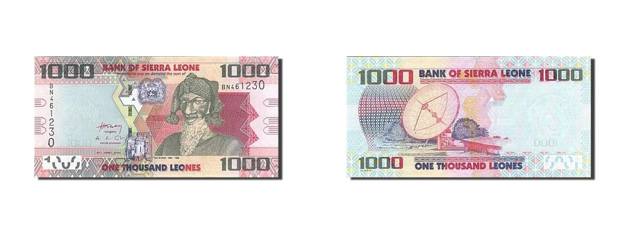 World Coins - Sierra Leone, 1000 Leones, 2010, 2010-04-27, KM:30, UNC(65-70)