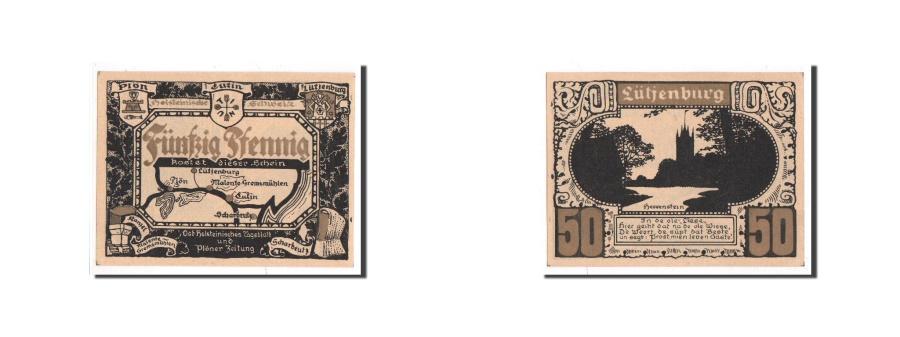 World Coins - Germany, Plön, 50 Pfennig, paysage 3, Undated, UNC(65-70), Mehl:1063.9