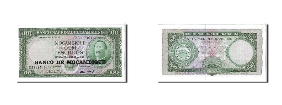 World Coins - Mozambique, 100 Escudos, 1961, KM #109a, UNC(65-70), C53417491