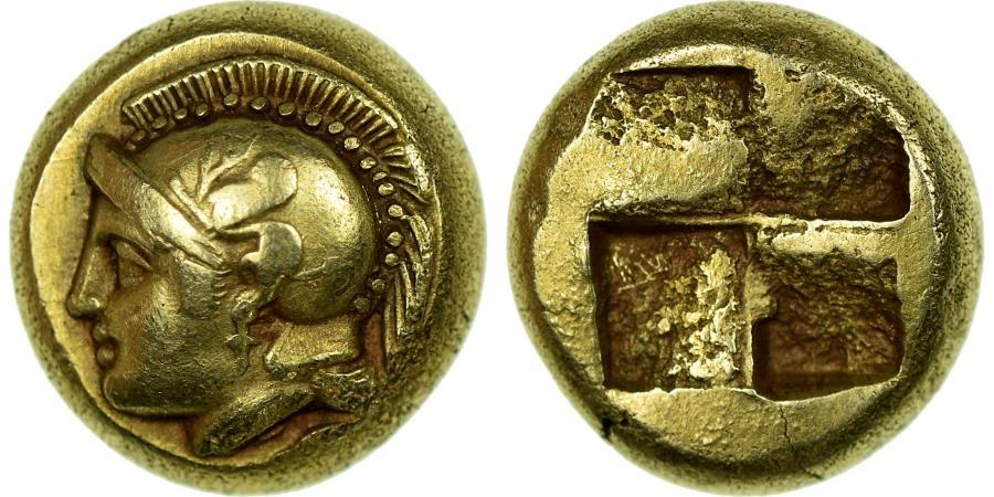 Ancient Coins - Coin, Ionia, Phokaia, Hekte, 478-387 BC, , Electrum, SNG-Cop:1028