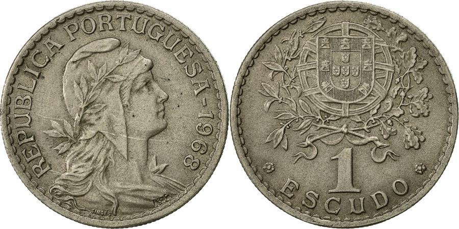 World Coins - Portugal, Escudo, 1968, , Copper-nickel, KM:578