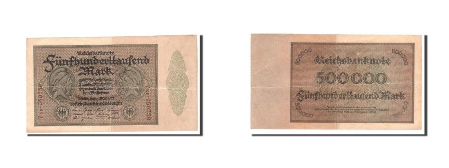 World Coins - Germany, 500,000 Mark, 1923, KM:88b, 1923-05-01, EF(40-45)