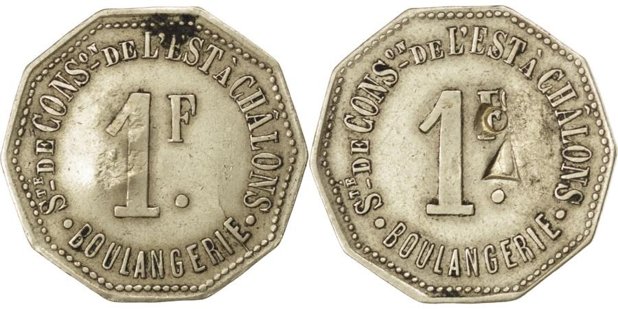 World Coins - France, 1 Franc, , Maillechort, Elie #30.5var, 2.55