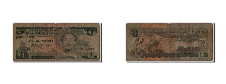 World Coins - Ethiopia, 1 Birr, KM #30a, VG(8-10), BM6724637