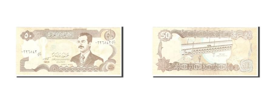 World Coins - Iraq, 50 Dinars, 1994, KM #83, EF(40-45)