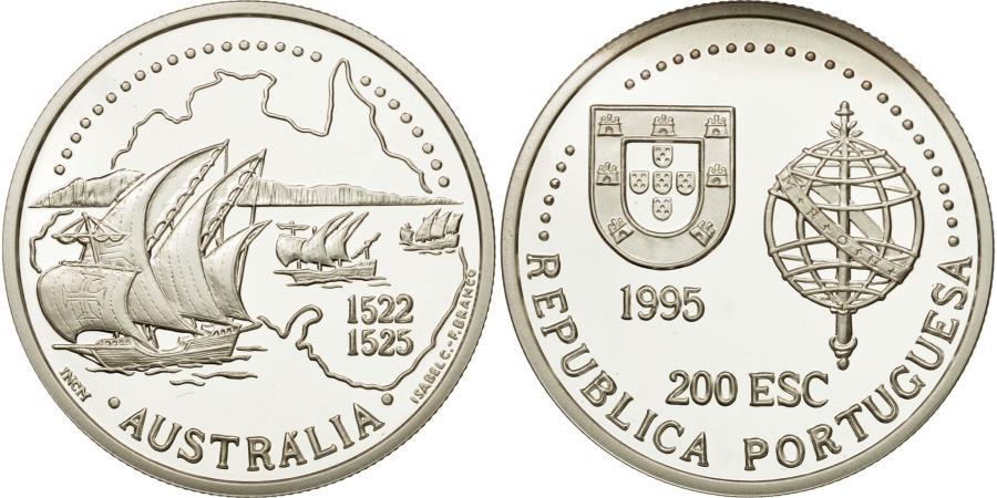 World Coins - Coin, Portugal, 200 Escudos, 1995, , Silver, KM:684a