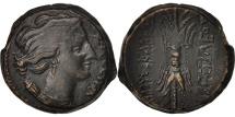 Sicily, Bronze, AE 22, 295 BC, Syracuse, AU(50-53), Bronze, BMC:44