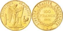 France, Génie, 100 Francs, 1901, Paris, AU(50-53), Gold, KM:832, Gadoury:1137